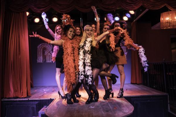 Workshop Burlesque in Zaandam