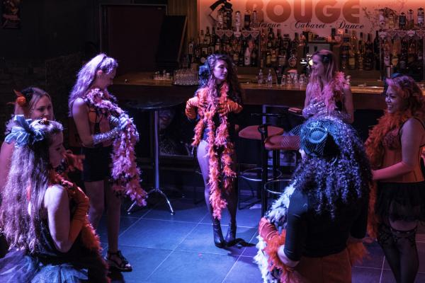 Workshop Burlesque in Zaandam